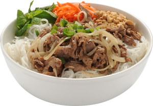 sauteed beef vermicelli